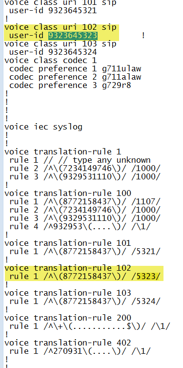 voiceclassuri CUBE SIP Header Matching - Extracting DNIS from a Toll Free Number!