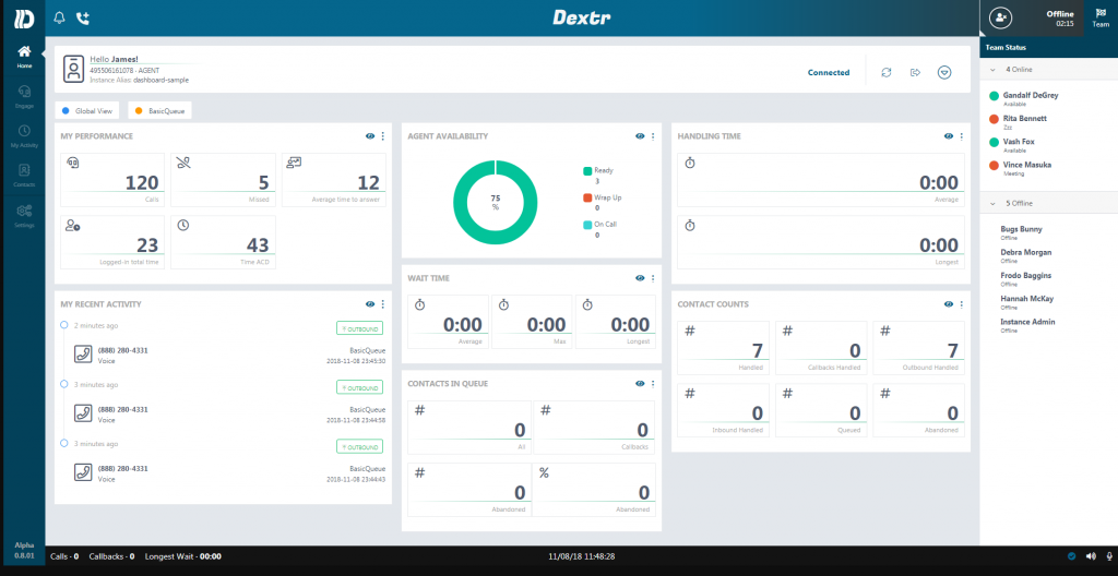 Dextr110718-1024x528 Dextr a Customized Agent Dashboard for #AmazonConnect Call Center!