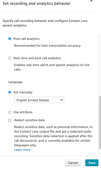 LENSSetting_dexterdashboardcallcenter.my_.connect.aws-2021.04.11-09_14_35 Amazon Connect - Start/Stop/Pause/Resume voice recording?